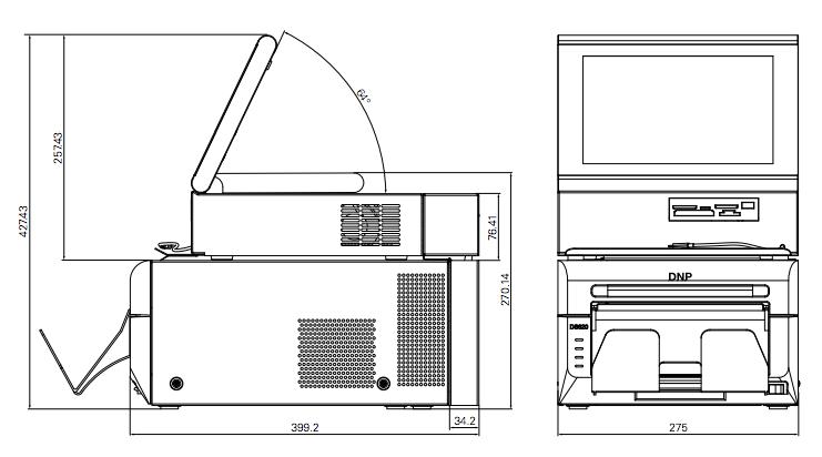 DNP DP-SL620 minilabb ritning